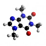 Molekula kofeínu
